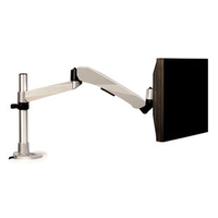 "3M MA245S 30"" Silver flat panel desk mount"