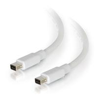 1m Mini DisplayPort Cable M/M WH