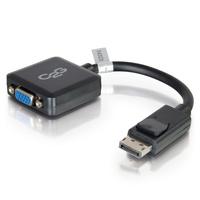 20cm DisplayPort M to VGA F BLK