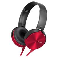 Comfortably big bass headphone Red