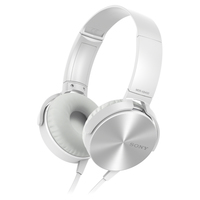 Comfortably big bass headphone White