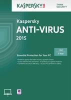 Kaspersky Lab Anti-Virus 2015 1 user