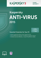 Kaspersky Lab Anti-Virus 2015 3 User