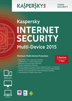 Kaspersky Lab Internet Security Multi-Device 2015 3 users