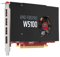 AMD FirePro W5100 4GB 4 DP