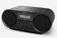 Sony ZS-RS60BT 4W Black CD radio