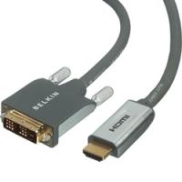 Cable DVI>HDMI 3m beige