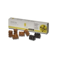 5 Bâtonnets ColorStix Jaune + 2 Noirs gratuits - Phaser 840  pour    XEROX PHASER 840/850/860