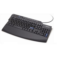 KEYBOARD/SP USB BLACK ENHANCED 105KEYS