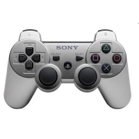 GAMEPAD PS3 SONY WIRELESS DUAL SHOCK SILVER 9118671