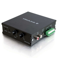 C2G 40100 Wired Black audio amplifier