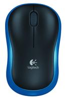 Logitech M185 RF Draadloos Optisch Blauw muis