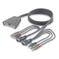 Omniview 2-Port KVM Switch with Audio Support