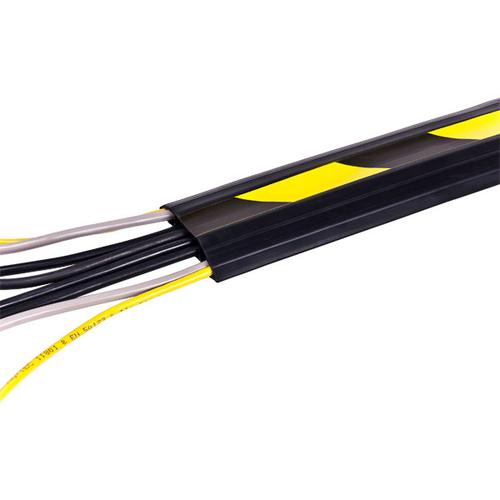 Dataflex 31.326 Noir, Jaune protecteur de câbles