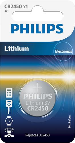 Batterij Philips Minicells Batterij CR2450