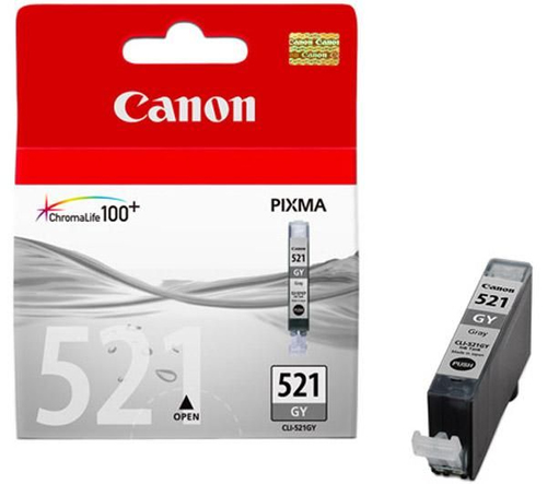 Canon CLI-521GY (2937B001AA) Compatible Grey Ink Cartridge
