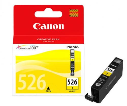 Inktpatroon Canon CLI-526 Y