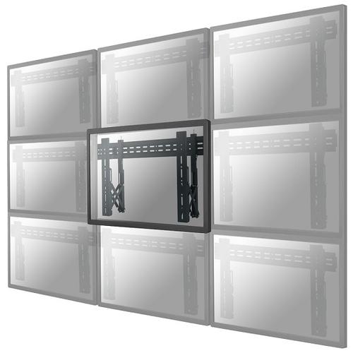 Ophangsysteem Newstar LED-VW1000BLACK flat panel muur steun