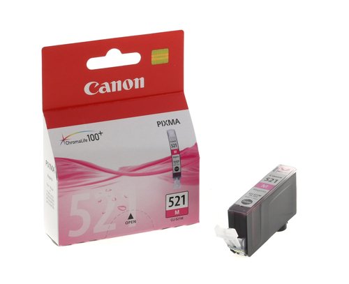 Inktpatroon Canon CLI-521 M
