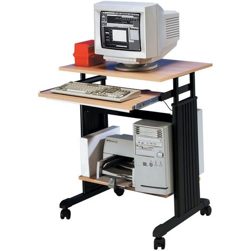 Dataflex 89.643 Noir, Bois bureau d'ordinateur