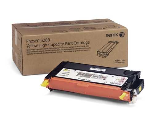 Laser Toner Xerox Hoge capaciteit tonercartridge, geel (5.900 pagina's)