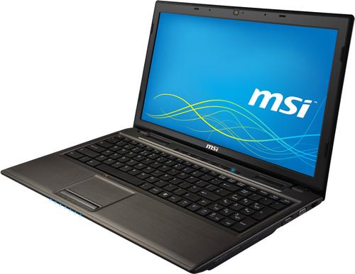 Specs MSI Classic CR61 i345W7H Notebook Black, Gray 39.6 cm