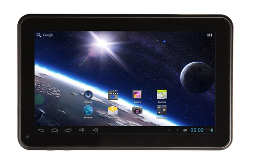 Tablet PC Salora TAB1012 8GB Zwart, Wit tablet