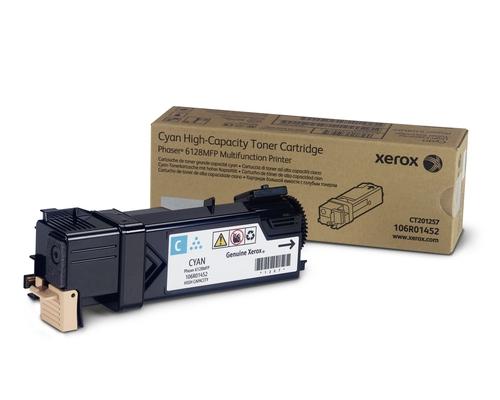 Laser Toner Xerox Standaard tonercartridget, cyaan (2.500 pagina's)