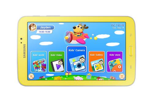 Tablet Samsung Galaxy Tab 3 Kids 7.0 Geel