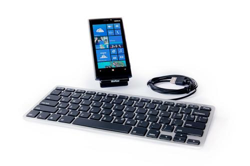 Dataflex 97.935 USB QWERTY Anglais Argent clavier