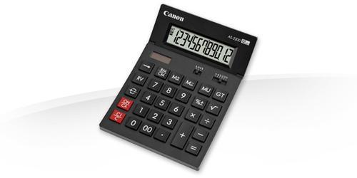 Canon AS-2200 Bureau Calculatrice à écran Noir