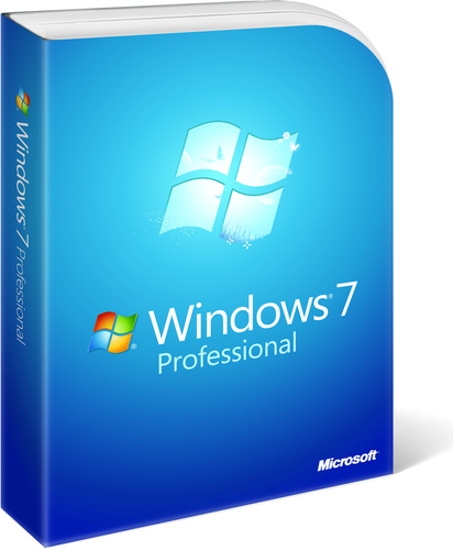 Besturingssysteem Microsoft Windows 7 PRO SP1 64-bit