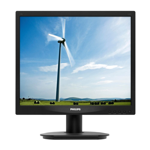 Philips Brilliance LCD-monitor met LED-achtergrondverlichting 17S4LSB