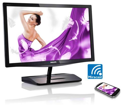 Scherm Philips Brilliance LCD-monitor met Miracast 239C4QHWAB