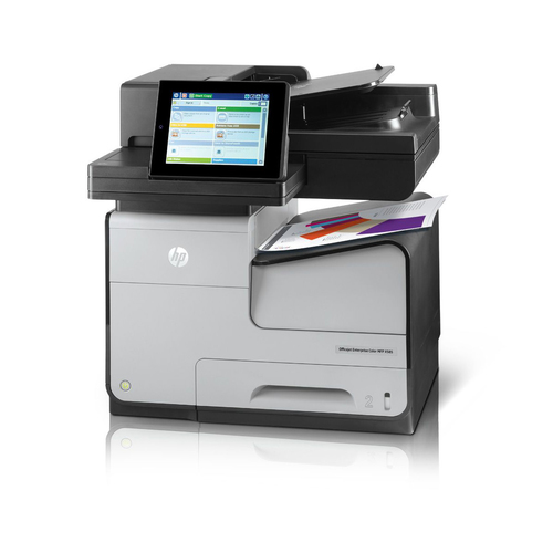 Inktjet & Foto Printer HP Officejet Enterprise Color Flow MFP X585z