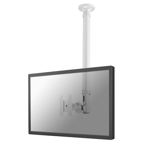 Ophangsysteem Newstar FPMA-C100WHITE flat panel plafond steun