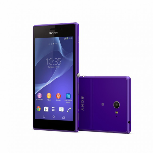 Smartphone Sony Xperia M2 Paars 8GB