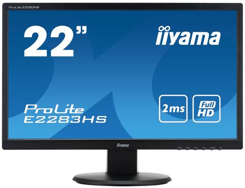 Scherm iiyama ProLite E2283HS-B1 LED display