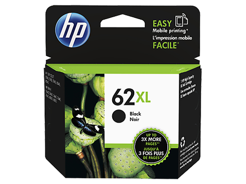 Inktpatroon HP 62XL Black Ink Cartridge