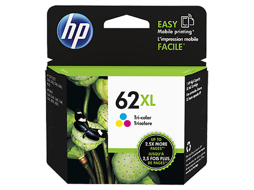 Inktpatroon HP 62XL Tri-color Ink Cartridge