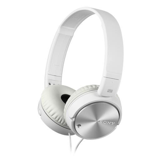Audio hardware Sony MDR-ZX110NA-hoofdtelefoon met ruisonderdrukking, geschikt voor smartphones