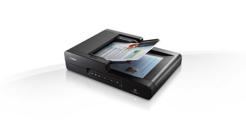Canon imageFORMULA DR-F120 Flatbed & ADF scanner 600 x 600DPI Noir