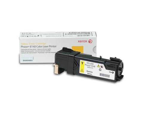 Laser Toner Xerox Phaser 6140, standaard tonercartridge, geel (2.000 pagina's)