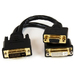 DVI-I Male To DVI-d Female And Hd15 Vga Female Wyse DVI Splitter Cable 8in