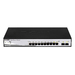 Switch 48,3cm D-Link DGS-1210-10P  8xGE/2xSFP    PoE/L2/SNMP ret