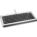 Compact Keyboard USB Silver/ Black Qw Nl