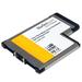 Flush Mount Expresscard Superspeed USB 3 Card Adapter 2port