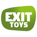exit aksent wooden play tower with a 2-seat swing arm