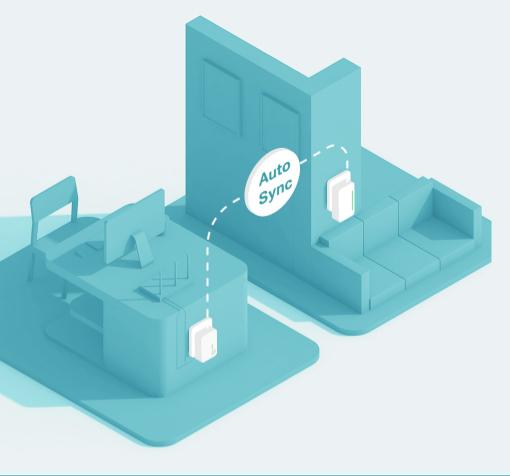 Birleştirilmiş Wi-Fi Ağı için Wi-Fi Otomatik Eşitleme