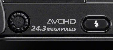 Sensore di immagine APS-C da 24,3 megapixel